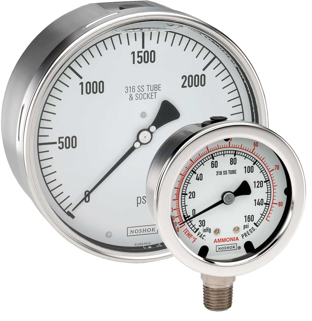 Pressure Measuring Instruments : Pressure gauges impa